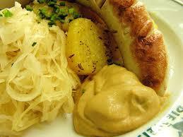 deutsche küche traditionell futtern in der fleischerei domke