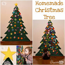 A Felt Christmas Tree Is The Perfect Answer When You Have Small Kids And Few Space In House This How I Did Our For Which