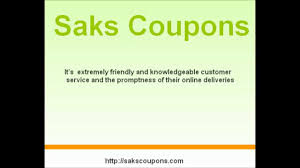 Saks Coupons - Saks Saksfifthavenue Promo - YouTube Saks Coupons Saksfifthavenue Promo Youtube Home Decor Bedding Dinnerware More Sakscom Avenue Coupon Code Free Shipping Dublin Amc Movies 18 10 Off Beauty Fgrance At Fifth Black Friday Cnn Coupons Barneys New Suitor Seeks Tieup With Wsj Coupon Code Facebook How To Save On Designer Styles 77 Canada Promo Codes Shopping Deals For Android Apk Download Windows Christmas And Holiday Decoration