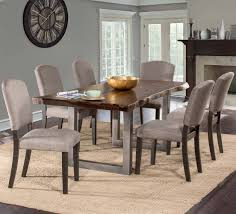 Thomasson 7 Piece Solid Wood Dining Set Coaster Jamestown Rustic Live Edge Ding Table Muses 5piece Round Set With Slipcover Parsons Chairs By Progressive Fniture At Lindys Company Tips To Mix And Match Room Successfully Kitchen Home W 4 Ladder Back Side Universal Belfort Bradleys Etc Utah Mattrses Fine Parkins Parson Chair In Amber Of 2 Burnham Bench Scott Living Value City John Thomas Thomasville Nc Hillsdale 4670dtbwc4 Coleman Golden Brown