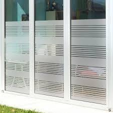 benutzerdefinierte milchglas nachahmung shutter partition dekoration büro wohnzimmer wc glastür aufkleber die hälfte der privatsphäre