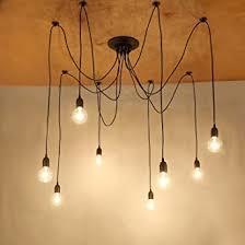netboat kronleuchter pendelleuchten 8 lichter hängende len deckenbeleuchtung schlafzimmer wohnzimmer esszimmer beleuchtung