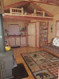deluxe lofted barn cabin interior 96 s f loft this style