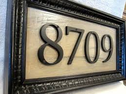 Mexican Tile House Numbers With Frame by Best 25 Address Plaque Ideas On Pinterest Address Numbers Diy