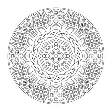Mandala Coloring Pages For Relaxation Best Page Site