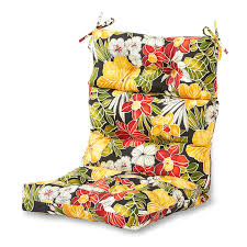 Patio Furniture Cushions Sears by Amazon Com Greendale Home Fashions Indoor Outdoor High Back
