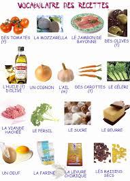 vocabulaire de la cuisine vocabulaire cuisine en anglais impressive lexique de cuisine