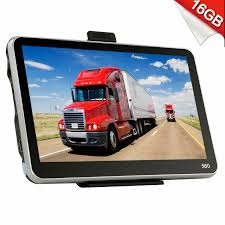 100 Gps Truck Route Navigation Navigator System Commercial Er Driving Guide Map