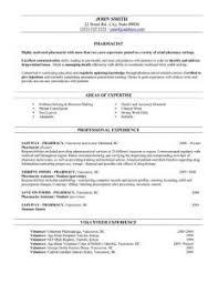 Resume Cosy Pharmacist Sample India For Curriculum Vitae B Pharmacy Freshers Template