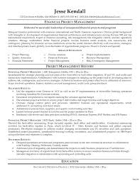 Jr Project Manager Resume Management Example Sample Investment Banking Template Oil And Gas Creative Samples It