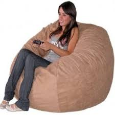 Fuf Bean Bag Chair Medium by Large Bean Bags Foter
