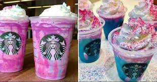 If You Dont Know About Starbucks Unicorn Frappuccino Then We Can Safely Assume That Have Been Living Under A Rock The Vibrant Blue And Pick Drink Has