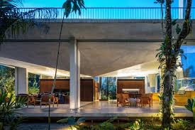 100 Concrete Home A In Brazil Lets The Owners Practically Live In The