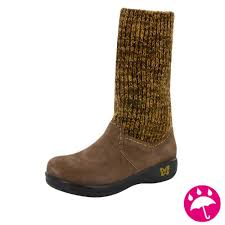 alegria juneau choco gold boots free shipping