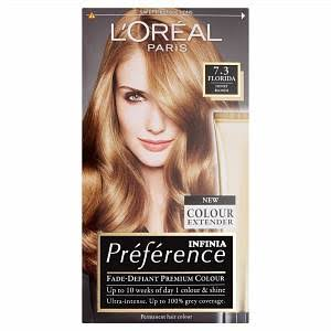 L'oreal Preference Golden Blonde Permanent Hair Dye - 7.3 Florida