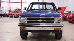 1991 Chevy S10 - YouTube 1991 Chevy Silverado Automatic New Transmission New Air Cditioning Chevrolet S10 Pickup T156 Indy 2017 Truck Dstone7y Flickr With Ls2 Engine Youtube K1500 Fix Steve K Lmc Life Timmy The Truck Safety Stance Gmc Sierra 881992 Instrument Front Winch Bumper Fits Chevygmc K5 Blazer Trucks 731991 Burnout
