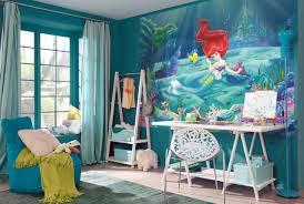poster de chambre poster mural la siréne panoramique disney komar so nuit