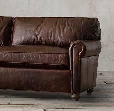 Restoration Hardware Lancaster Sofa Leather by Original Lancaster Leather Sofa
