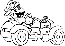 Picture Mario Bros Coloring Pages 65 On Site With