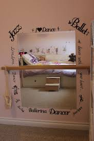 For The Dancer Long Mirrors Hanging From Garden Trellises With A Handrail Converted To Ballet Bar