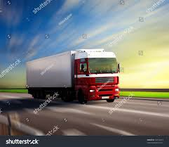 Truck On Highway And Sunset | EZ Canvas