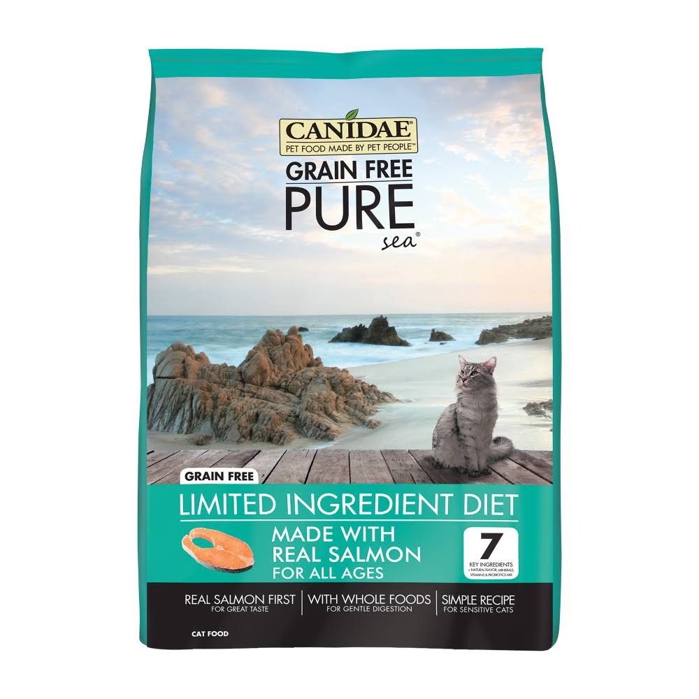 Canidae Grain Free Pure Sea Cat Food - Fresh salmon