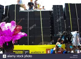 100 Truck Speakers Stack Speakers Outdoor Tied Truck Party Music Stock Photo 30638393