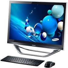 ordinateur de bureau tactile samsung at iv one 7 dp700a3d x01fr 23 pouces led tactile hd