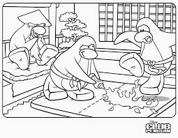 Awesome Club Penguin Coloring Pages 94 On For Kids With