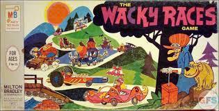 Wacky Races Board Game 1969