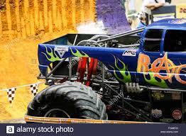 100 Monster Truck New Orleans LA USA 20th Feb 2016 Rage Monster Truck In Action
