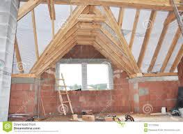 100 House Trusses Building Attic Construction Interior Attic Roofing Construction