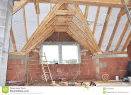 100 House Trusses Building Attic Construction Interior Attic Roofing