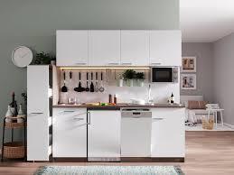 respekta küchenzeile york mit e geräten breite 225 cm kaufen otto