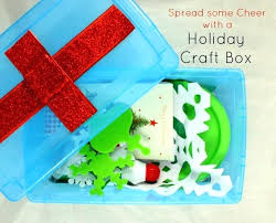 Christmas Crafts For Toddlers To Make As Gifts Spread Some Holiday Cheer With This Craft Box