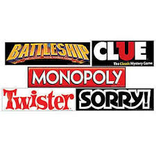 Our Hasbro Game Night Sign Features Signs From Your Favorite Games Including Battleship Clue Monopoly Twister And Sorry