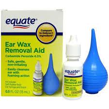 equate ear wax removal aid 0 5 oz walmart