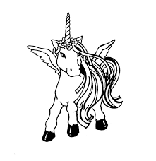 Unicorn Coloring Pages Printable Page