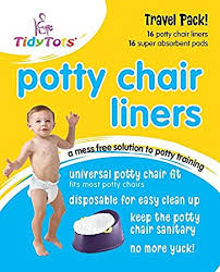Toddler Potty Chairs Amazon by Amazon Com Tidy Tots Disposable Potty Chair Liners Travel Pack