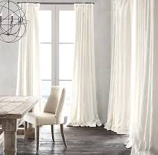 Living Room Curtain Ideas Pinterest by Living Room Curtain Ideas Restoration Hardware Heavyweight
