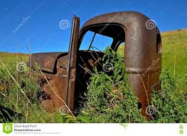Old International Pickup Cab Editorial Stock Image - Image Of ...