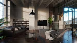 100 Modern Loft Interior Design ArtStation Interior Kristian HIll