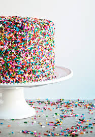 Funfetti Sprinkle Cake a happy food dance