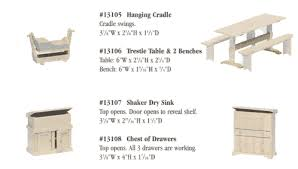 table furniture plans 3 vues