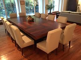 Interior Large Dining Room Tables Seats 12 Contemporary Marvellous Round Table With Regard To 29