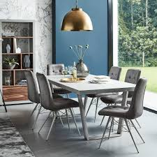 Halmstad Dining Table Concrete