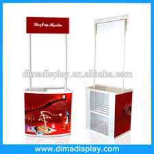 Hot Sale PVC Plastic Portable Promotion Counter Display Table