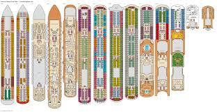 Carnival Conquest Deck Plans by Carnival Magic Verandah Deck Plan Tour