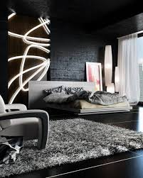 Awesome Bedroom Interior Design Ideas For Guys Mens Bed