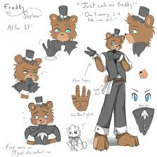 FNAF Freddy RefSheet After 87 by Myebi on DeviantArt